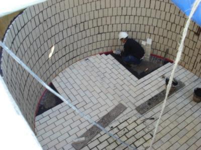 réalisation d'un cuvelage céramique